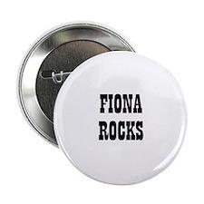 FIONA ROCKS Button