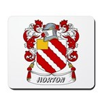 Horton Coat of Arms Mousepad