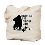 Brunettes Not Fighter Jets 2 Tote Bag