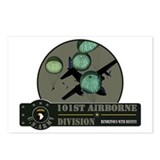 101st Airborne Postcards (Package of 8)