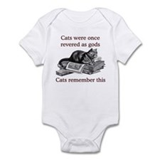 Cats As Gods Infant Bodysuit