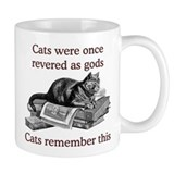 Cats As Gods Small Mug