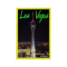 Las Vegas (Stratosphere) Rectangle Magnet