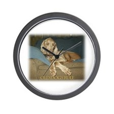 Old Dogs Rule-Jake Wall Clock