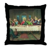 Da Vinci Last Supper Throw Pillow