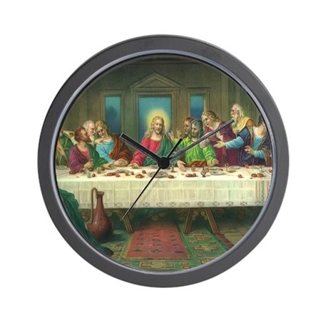 Da Vinci Last Supper Wall Clock