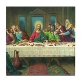 Da Vinci Last Supper Tile Coaster