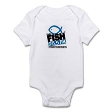 Unique Fish radio Infant Bodysuit