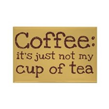 Not My Cup Of Tea Rectangle Magnet (100 pack)