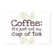 Not My Cup Of Tea Postcards (Package of 8)