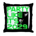 Apophis 2029 Throw Pillow