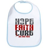 HOPE FAITH CURE AIDS / HIV Bib