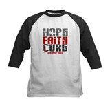 HOPE FAITH CURE AIDS / HIV Tee