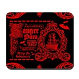 Virgin Blood Wine Mousepad