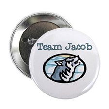 "Team Jacob Wolf 2.25"" Button"