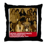 Power of Fans Throw Pillow