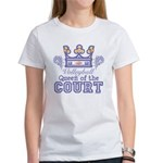 Queen Of The Court Volleyball Women's T-Shirt