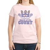 Queen Of The Court Volleyball T-Shirt