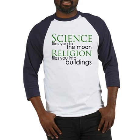 Science and Religion Baseball Jersey