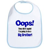 Oops Big Brother Bib