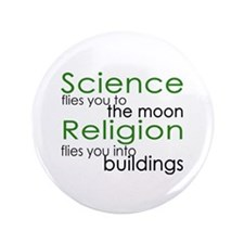 "Science and Religion 3.5"" Button"