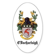 O'Dochartaigh Coat of Arms Oval Decal