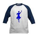 Highland Fling Kid's Baseball Tee