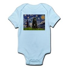 Starry Night Bouvier Infant Creeper
