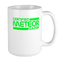 Certified Meteor Gazer Large Mug