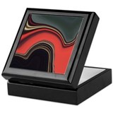 Abstract Keepsake Box