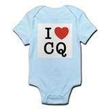 I Heart CQ Infant Bodysuit