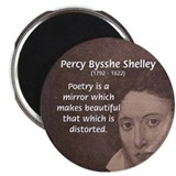 Romantic Poet Percy Shelley Magnet