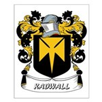 Kadwall Coat of Arms Small Poster