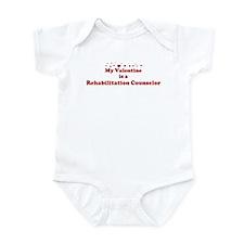 Valentine: Rehabilitation Cou Infant Bodysuit