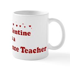 Valentine: Social Science Tea Mug