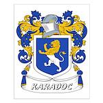 Karadoc Coat of Arms Small Poster