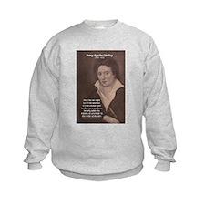 Writer Percy Bysshe Shelley Kids Sweatshirt