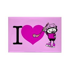 I heart Nancy Boys Rectangle Magnet