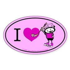 I heart Nancy Boys Oval Decal