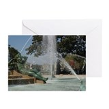 10 Philadelphia Greeting Cards: Swann Fountain