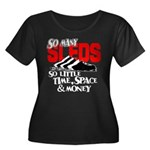 So Little Time, Space & Money Women's Plus Size Sc