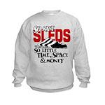 So Little Time, Space & Money Kids Sweatshirt