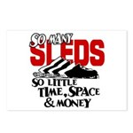 So Little Time, Space & Money Postcards (Package o