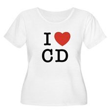 I Heart CD T-Shirt