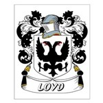 Loyd Coat of Arms Small Poster