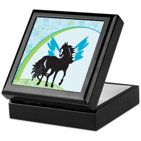 Winged Steed Keepsake Box