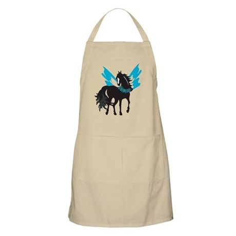 Winged Steed w/Lei BBQ Apron
