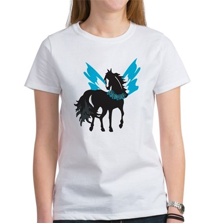 Winged Steed w/Lei Women's T-Shirt
