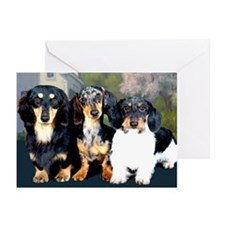 Sweet Doxie Group Greeting Cards (Pk of 10)
