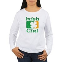 Irish Girl Long Sleeve Tee
